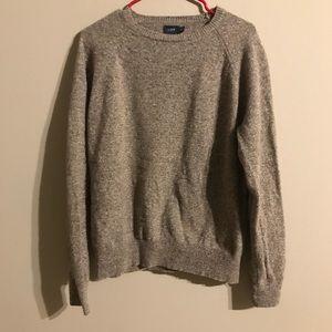 Brown Jcrew sweater